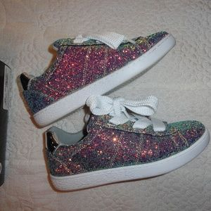 Metallic Sneakers G by Guess Bling Exc Condition 8